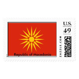 Sun , Republic of Macedonia Postage Stamp