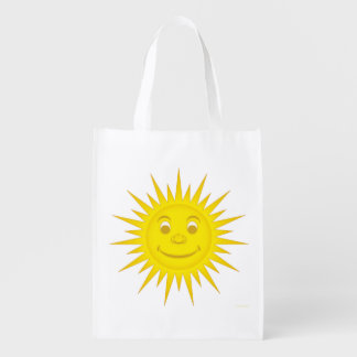Sun Reusable Grocery Bag
