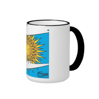 sun ringer coffee mug