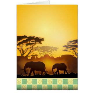 Sun Rise Greeting Card