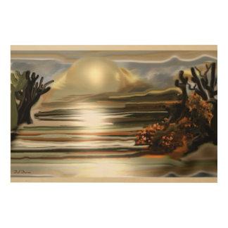 Sun Rise On the Desert Southwestern Abstract Art