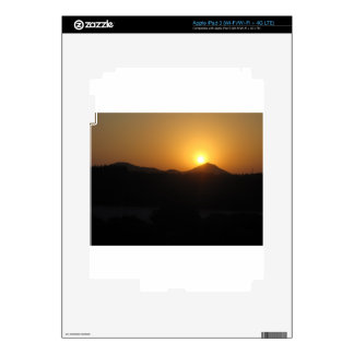 sun rise sun set iPad 3 decal