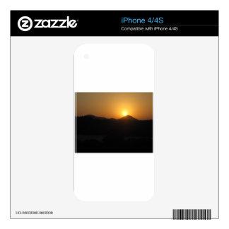 sun rise sun set iPhone 4S skin