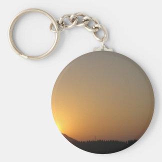 sun rise sun set keychain
