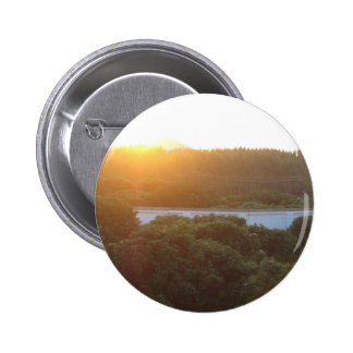 Sun rise sun set pinback button