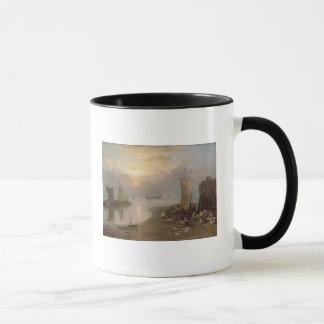 Sun Rising Through Vapour Mug