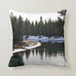 Sun River Wintertime Pillow