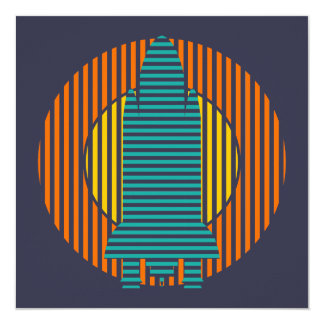 sun rocket stripes card