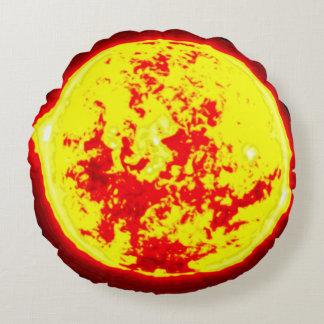 Sun Round Pillow