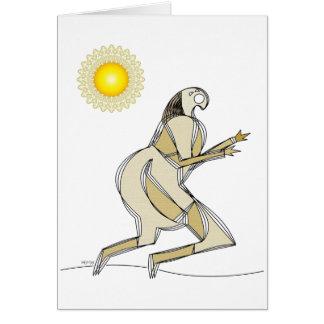 Sun Runner Card