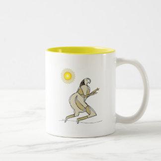 Sun Runner Two-Tone Coffee Mug
