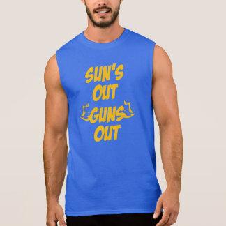 Sun s Out Guns Out Sleeveless Tee