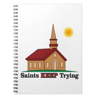 sun saints keep trying notebook