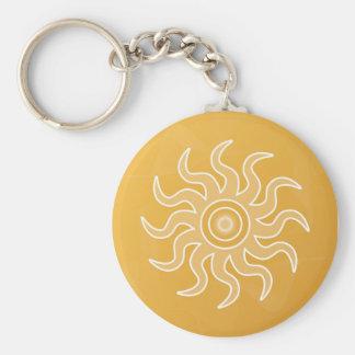 Sun Salutation Keychain
