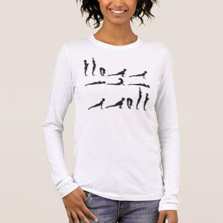 sun-salutation long sleeve T-Shirt
