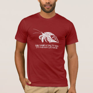 Sun, Sand and Salty Sea - Hermit Crab T-Shirt