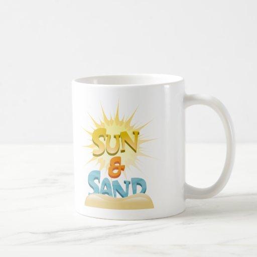 Sun & Sand Classic White Coffee Mug