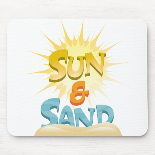 Sun & Sand Mouse Pad