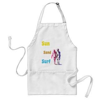 Sun, Sand, Surf Apron apron
