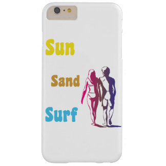 Sun Sand Surf Barely There iPhone 6 Plus Case