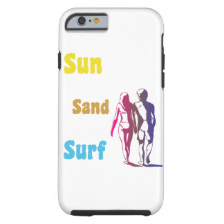 Sun Sand Surf Tough iPhone 6 Case