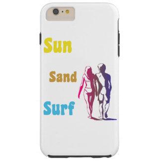Sun Sand Surf Tough iPhone 6 Plus Case