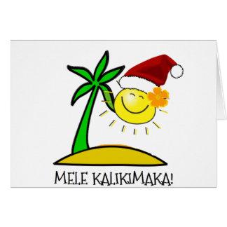 Sun Santa - Mele Kalikimaka Cards