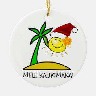 Sun Santa - Mele Kalikimaka Ornaments