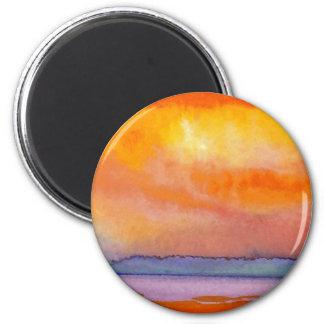 Sun Scape - CricketDiane Ocean Art Products Refrigerator Magnet
