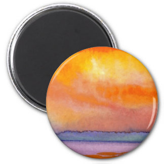 Sun Scape - CricketDiane Ocean Art Products Fridge Magnet