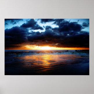 Sun, Sea & Sand Poster