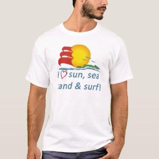 Sun sea sand surf tee shirt!