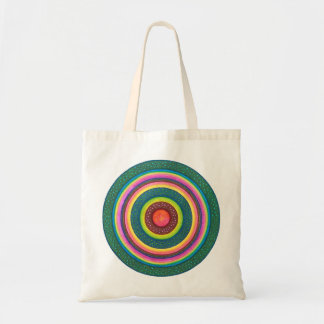Sun Seed Mandala Tote Bag