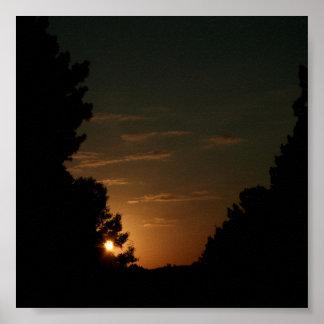 Sun Set 1 Poster