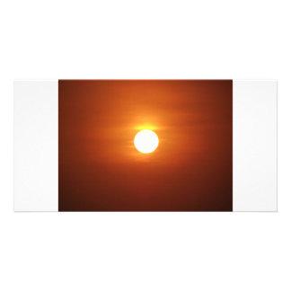 sun set card