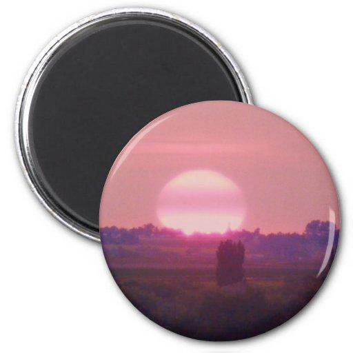Sun Set! Fridge Magnets