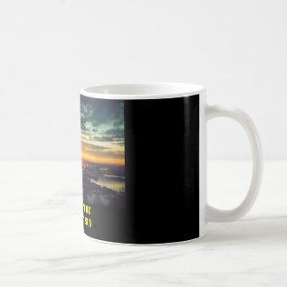 SUN SET GJ (2), LAND OF THE MIDNIGHT SUN COFFEE MUG