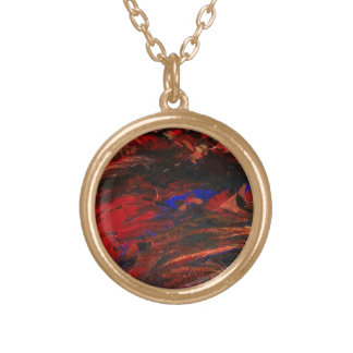 Sun Set Gold Plated Necklace