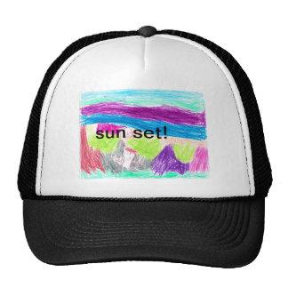 sun set hat
