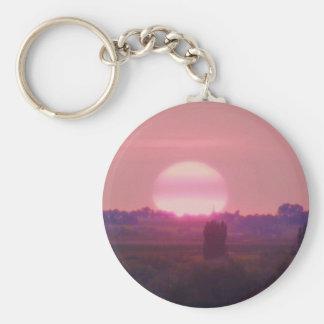 Sun Set! Keychain