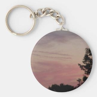 sun set keychain