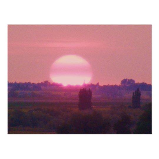 Sun Set! Postcard