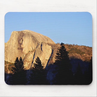 Sun sets on Half Dome Mouse Pad