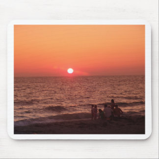 Sun Sets Over the Gulf Mouse Pads
