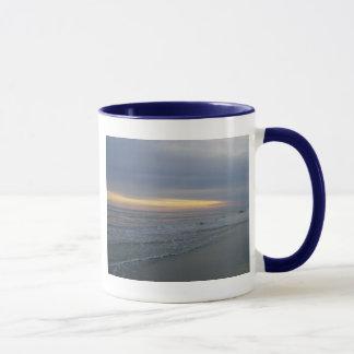 Sun Setting Along the Seashore Mug