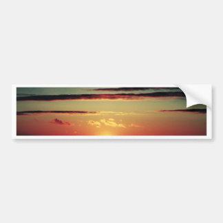 Sun Setting Bumper Sticker