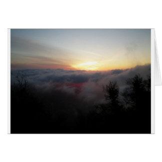 Sun Setting on Palomar Card