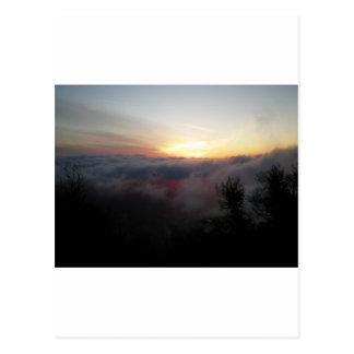 Sun Setting on Palomar Postcard