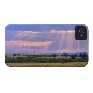 Sun setting on the Masai Mara. iPhone 4 Cover