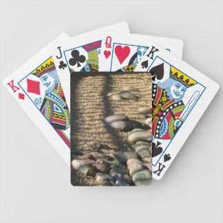 Sun, shade, rocks and sand bicycle playing cards